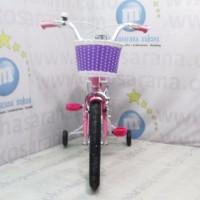 Wimcycle Frozen AE CTB Sepeda Anak 16 Inci Lisensi