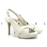 sepatu slip on Isabel Sepatu Wanita Hak Tinggi BRENDA Slingback