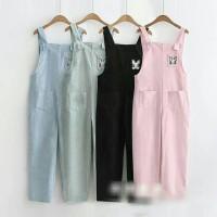 Jual Celana wanita / Overall / Jumpsuit : Rabbit Overall TERBARU Murah