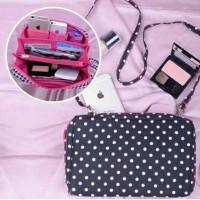 Harga turun harga lagi wallet bag polkadot hitam grosir sepatu tas murah | Pembandingharga.com