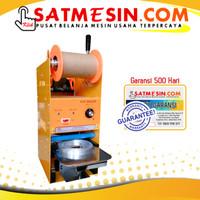 Cup sealer Getra / Mesin pengemas minuman bubble (SAT-ETD8),, BONUS 1