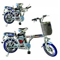 Sepeda Listrik Super Rider Type Saturnus Harga Murah Bisa COD