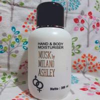 harga promo [300ml] Body Lotion Musk by Milano Ashley / Halal / BPOM