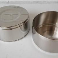 ORIGINAL - Zebra Rantang Makan/Food Carrier Stainless Uk 12cm Susun