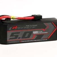 Turnigy Graphene 5000mAh 3S 45C Lipo Pack with XT90 Connector Baterai