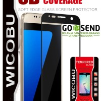 WICOBU  Full Tempered Glass OPPO A57  2017 - Hitam/PUTIH