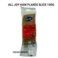 ALL JOY HAW FLAKES SLICE 150GR BUAH KERING ASAM