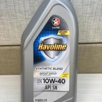 Oli Chevron Caltex Havoline Synthetic Blend 10W-40 API-SN original