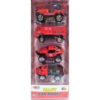Mainan Die Cast  Set - Fire Fighter Series - Alloy Car Model