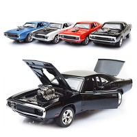 Diecast Miniatur Mobil Fast & Furious Dodge Charger