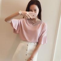 kaos bicycle t shirt motif wanita jepang fashion print art blus big