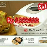 RE BREAD GOLD SERI RB 250 - AUTOMATIC BREAD MAKER