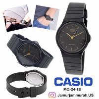 Jual Casio MQ24-1B2 Original Black Jam Tangan Wanita Dewasa Remaja Anak Murah