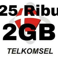 PAKET DATA QUOTA KUOTA INTERNET TELKOMSEL SIMPATI LOOP KARTU AS 2GB