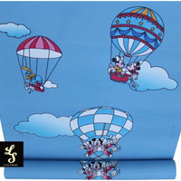 C41 Wallpaper sticker Mickey mouse and minie mouse