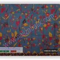 Toko Batik Online, Grosir Batik, Model Baju Batik Kerja, HM35 BIRU