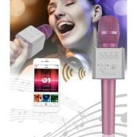 Jual Mic Q9 Wireless Bluetooth Karaoke Speaker MIC TERBARU Q9 MIC SMULE Murah