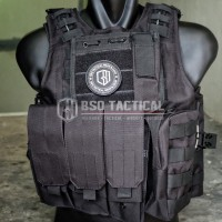 Rompi tactical vest fsbe molle import