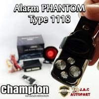 Alarm Mobil 1118 Merk Phantom B18 N113