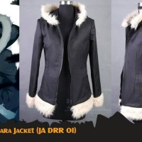 Jaket Anime Durarara Izaya Orihara Cosplay Jacket Hoodie (JA DRR 01)