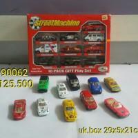 mainan anak street machine set mobil-mobilan