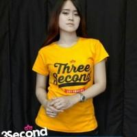 Kaos/Baju/T-Shirt Wanita THREE SECOND