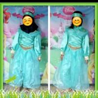 Baju Gamis Muslim Anak Perempuan Kostum Princess Jasmine Size Besar