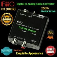FiiO D3 (D03K) Digital to Analog Audio Converter - 192kHz/24bit DAC