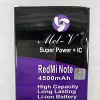 Baterai Batre Double Power + IC Xiaomi Redmi Note  Battery Original