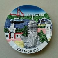 Souvenir Magnet / tempelan kulkas California dari negara Amerika