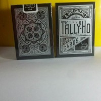 Tally-Ho Viper black Playing cards by Ellusionist