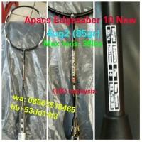 Raket Badminton Apacs EdgeSaber 10 New ! max Tens 38lbs , 100%Original