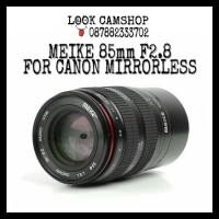 LENSA KAMERA MIRRORLESS MEIKE 85mm F2.8 FOR CANON EOS M M2 M10 M3 M5