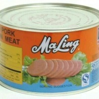 daging babi kaleng maling ham TTS 397gr /luncheon meat tts
