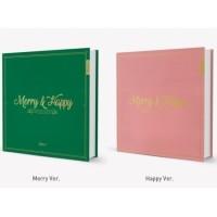 TWICE - MERRY & HAPPY [ HEART SHAKER ] 1ST FULL ALBUM REPACKAGE