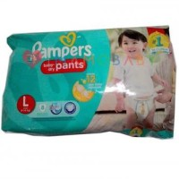 PAMPERS BABY DRY PANTS L8