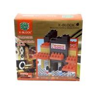 Mainan Edukasi Anak X Block Dunkin Donuts XJ 5962 Lego Block