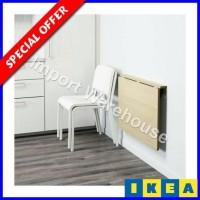 IKEA NORBO Daun Meja Lipat dipasang di Dinding - 79x59cm- kayu birch