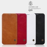 SAMSUNG Galaxy J7 Plus Flip Leather Cover NILLKIN QIN Hard Case