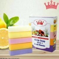 FRUITAMIN BPOM - GLUTA SOAP 10 IN 1 FRUIT VITAMIN ORIGINAL - BEST