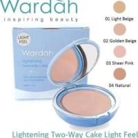 WARDAH LIGHTENING TWO WAY CAKE ORIGINAL - GOOD QUALITY