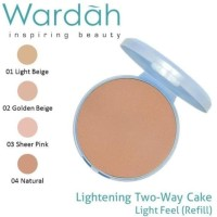 WARDAH REFILL TWO WAY CAKE LIGHTENING ORIGINAL - REFILL - PROMO