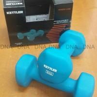 Dumbell Neoprene Kettler 6Kg/Pair - Barbel Neoprene Kettler 6Kg/Pair -