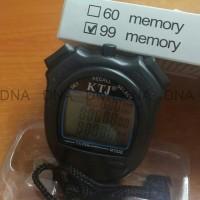 Stopwatch Ktj 100 Memory Sport Watch - High Quality - Diskon