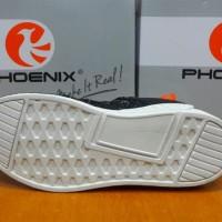 Sepatu Sneakers Phoenix Leon Black White Original - Sport / Casual -