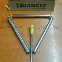 Triangle Rolling 16Cm Musical Instrument - Original - Kualitas Bagus