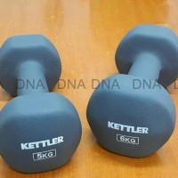 Dumbell Neoprene Kettler 12Kg/Pair - Barbel Neoprene Kettler 12Kg/Pair