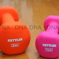 Dumbell Neoprene Kettler 10Kg/Pair - Barbel Neoprene Kettler 10Kg/Pair