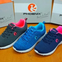 Sepatu Sneakers Phoenix Serena D.Grey Pink Original - Woman - Good