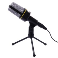 [SX] Microphone 3.5mm Mic Condenser Sound Recording Stand Cable